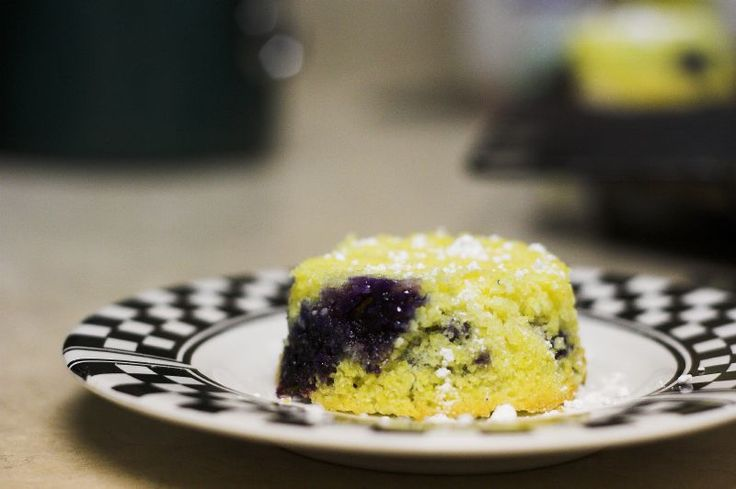 "A few months ago, Z found a recipe for ""individual blueberry cakes"" in Family Circle magazine.  We tried these once, and thought they were d..."