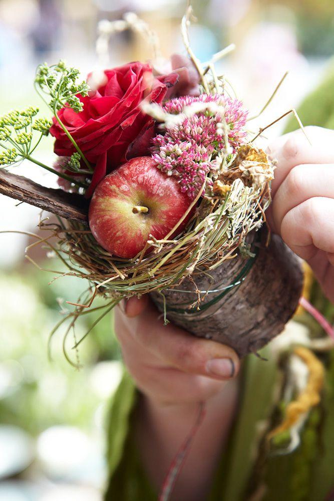 Blumen Herbst Dekoration Gesteck – #blumen #dekora…