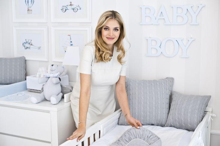 Rozalia Mancewicz kompletuje wyprawkę dla synka