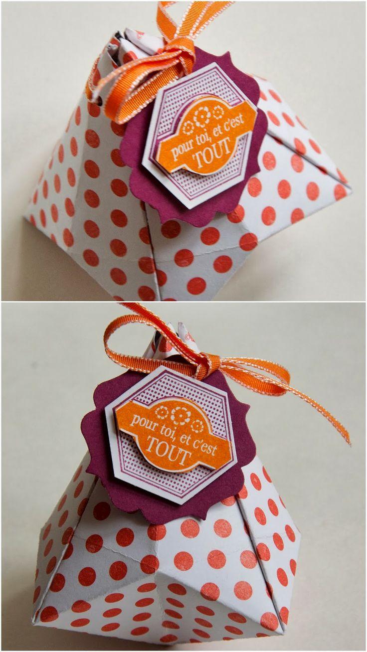 Les Ateliers de Val: Boite origami