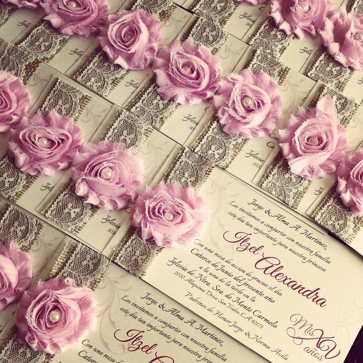 145 best images about XV - invitations on Pinterest   Sweet ...