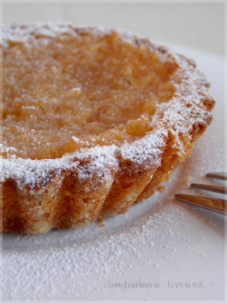 Mini almás piték - ...konyhán innen - kerten túl...