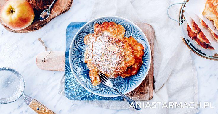 Placki z jabłkami – racuchy | Ania Starmach
