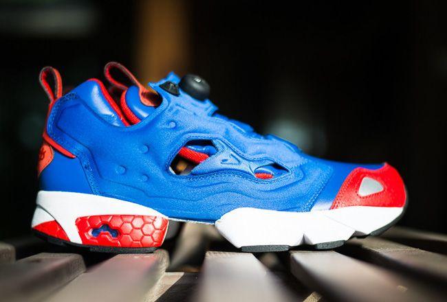 cfcb32145a0e ... Reebok Insta Pump Fury Tetra Blue Red Sneakers Reebok Insta-Pump Fury  Pinterest Reebok and ...