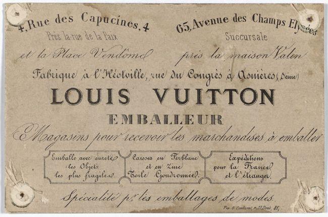 """""""Louis Vuitton Emballeur"""" - 1"""