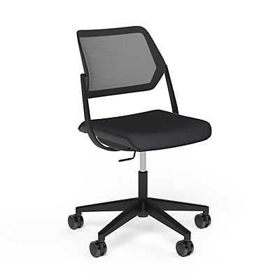 show details for qivi 5star base chair by steelcase
