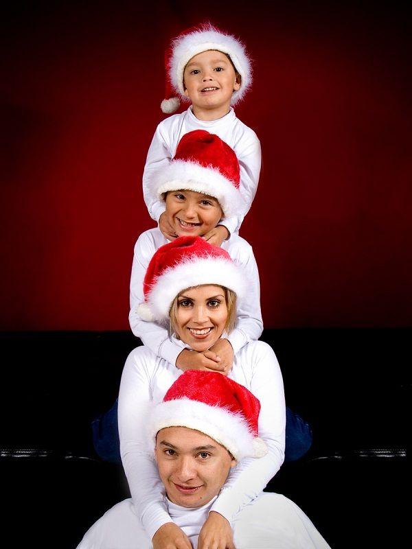 Новогодние семейные фото и фотосессия будущих мам: к празднику готовы!
