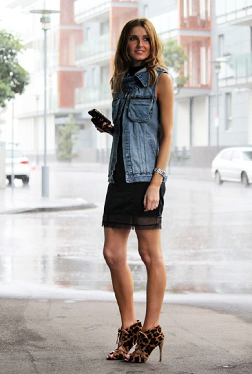 day to night denim vest outfit effortless weekend casual chic style fashion