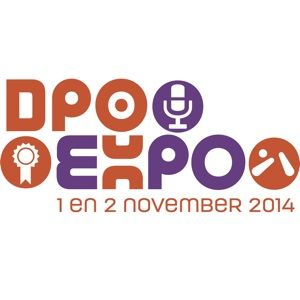Het DPO Expo 2014. Dutch #Pinball Open 2014 logo