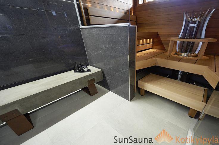 Sun Sauna, Magnum kiuas, laudevalaisin, Seinäjoen Asuntomessut