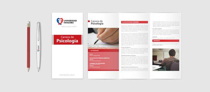#UniversidadFavaloro #branding #códigocromático #carreras #folletos #Web #design #GraphicDesign #santiagocarril