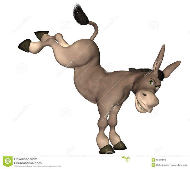 Cartoon Mule | Donkey Cartoon Royalty Free Stock Photos - Image: 16474898