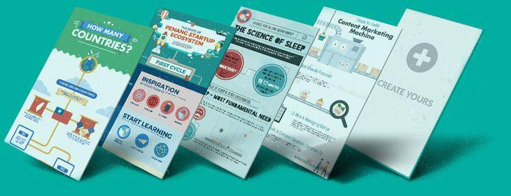Para crear infografías, informes, presentaciones. MUY ÚTIL