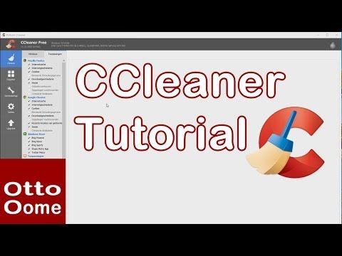 Tutorial CCleaner, PC sneller opstarten - YouTube