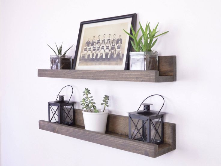 17 best ideas about picture ledge on pinterest picture for Wall shelves and ledges