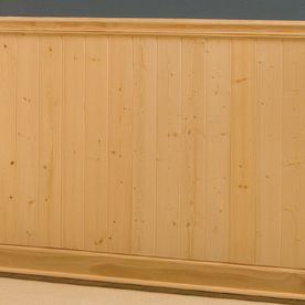 EverTrue 8 Ft Pine Wall Panel Moulding From Lowes For Tongue And Groove  Ceiling In