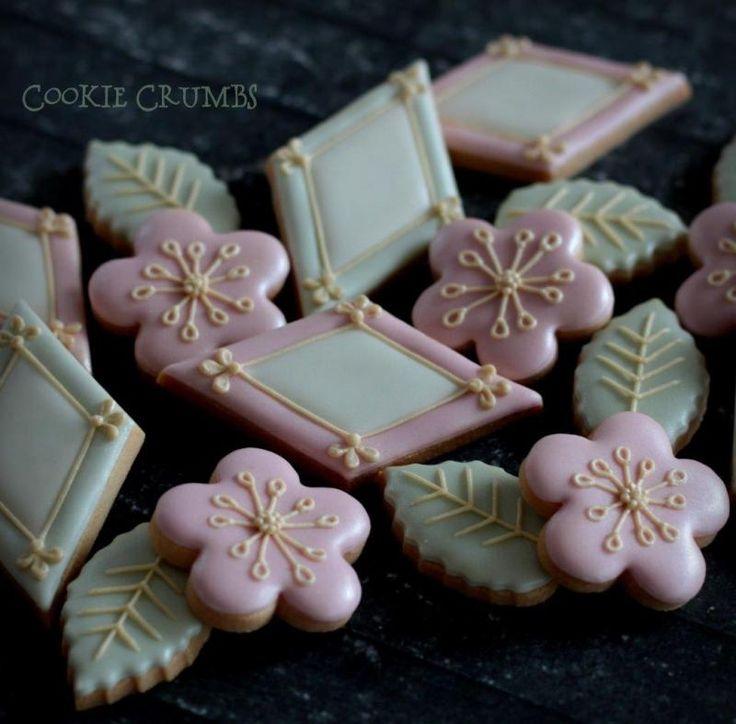 ひなまつりのクッキー |~Cookie Crumbs~クッキー・クラムズのアイシングクッキー