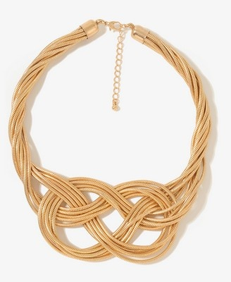 Infinity Knots, Wearable Necklaces, Style, 1000049059, Knots Choker, Knots Necklaces, Forever21, Accessories Women