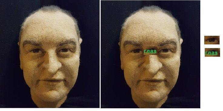 кукольное лицо