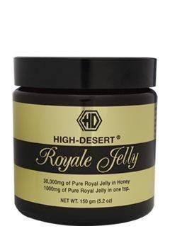 High Desert Royal Jelly adalah salah satu produk terlaris dari High Desert. Royal Jelly disebut juga susu lebah karena warnanya putih pekat yang sangat kaya akan zat gizi.