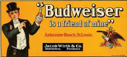 Bud used to be classy? Who knew...