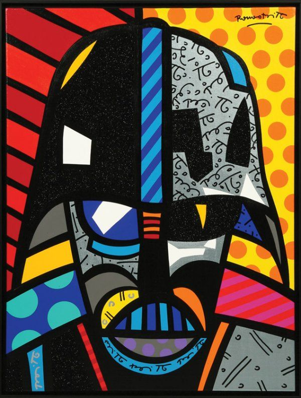 I love Romero Britto! He has amazing artwork