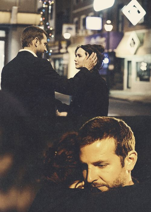 """You love me? yea i do""Silver Linings Playbook! Love them together!!"