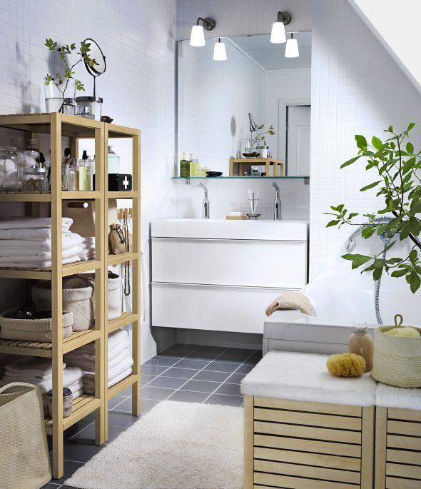 12 Ideen Für Mehr Ablage Im Bad