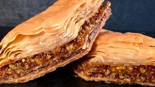 Angel's Baklava Recipe | The Chew - Michael Symons Mom family recipe..unique with grahm crackers.