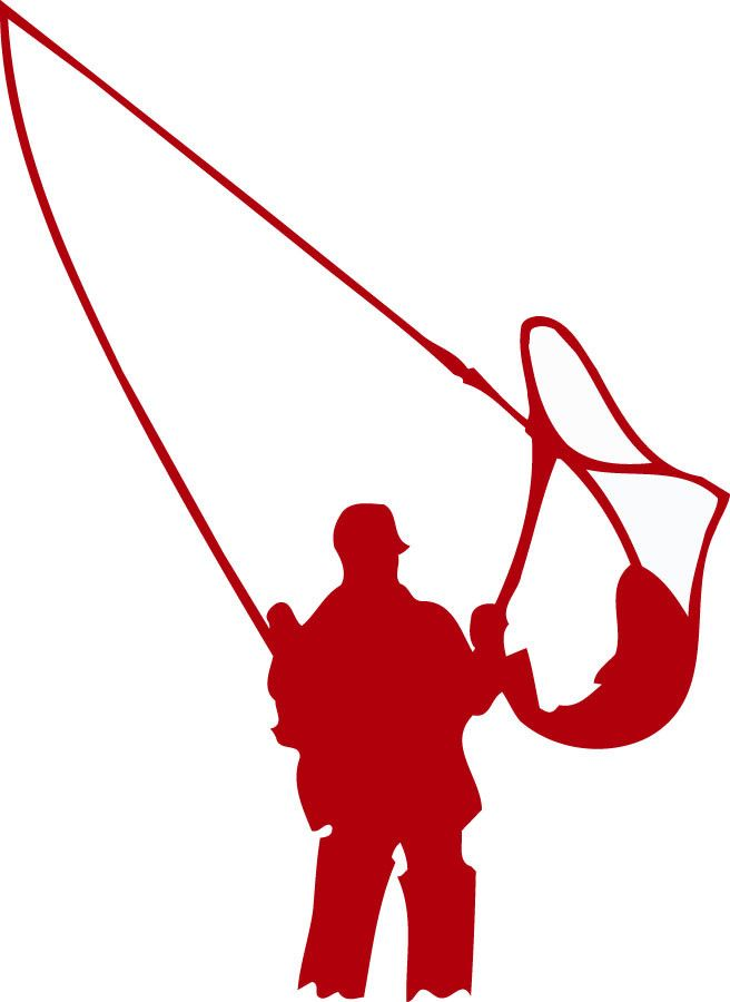"Fisherman fishing vinyl decal. Sizes available: - Small: 6"" Tall x 4.4"" Wide…"