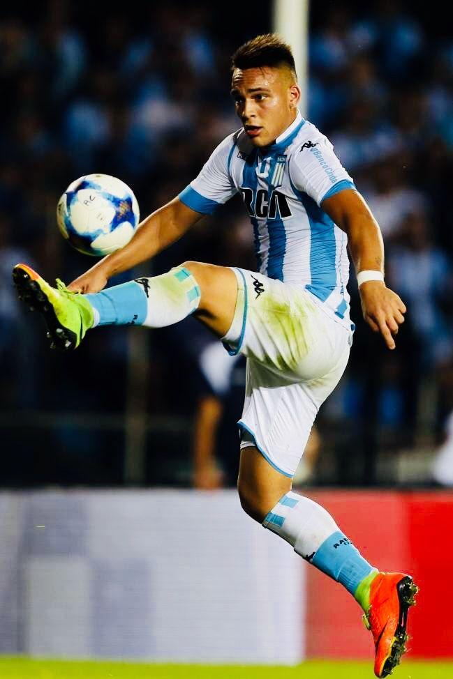 Lautaro Martínez (Racing Club) [Argentina] striker