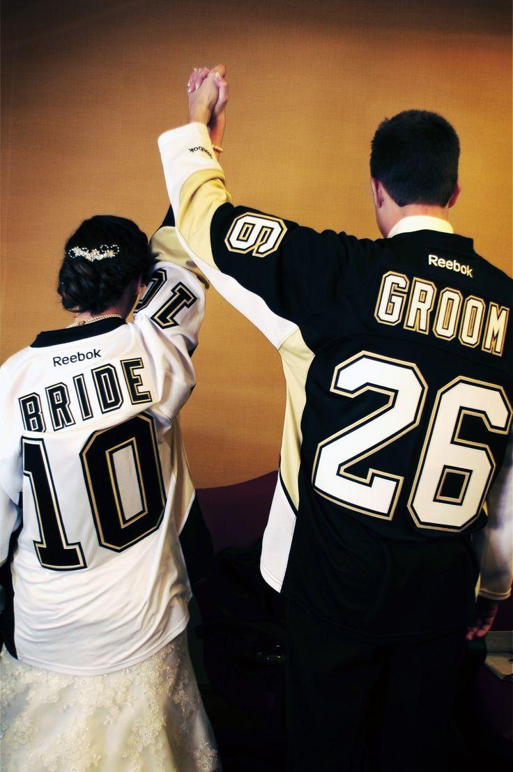 @Pittsburgh Penguins #1 Fans! Matt U0026 Emmau0027s Pittsburgh Wedding.