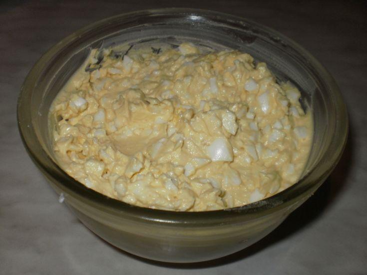 Fotorecept: Vajíčková nátierka