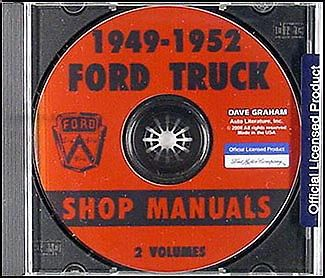 Ford-Pickup-and-Truck-CD-Shop-Manual-1949-1950-1951-1952-Repair-Service-F1-F8