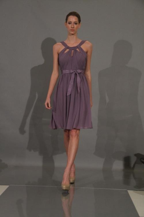 Pretty color dress. Mauve-y purple. monique lhuillier bridesmaids dresses-fall 2012-3
