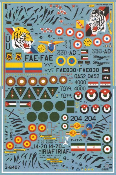 Xtradecal Aircraft decals - X48133 | Hannants