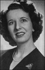 """Mary Wickes - wonderful actress.  She was the maid in the Doris Day """"Moonlight"""" movies.  She was very tall and Lanky and sometimes played being clumsy."""