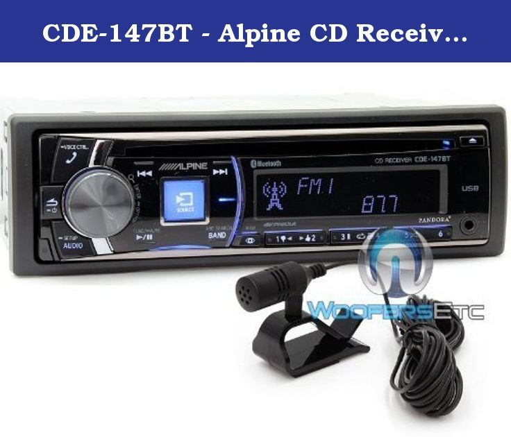 82365a4475e025529ef0671836f9b387 cd player alpine cde 147bt alpine cd receiver with advanced bluetooth alpine cde dual amb600w wiring harness at cos-gaming.co