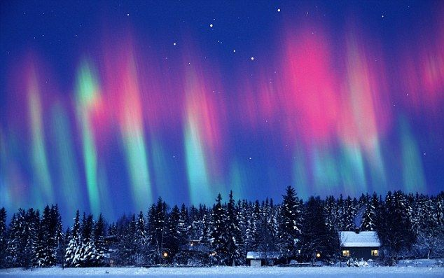 To see before I die: Aurora Borealis - maybe take a cruise through Alaska...and see the Northern Lights phenomenon...