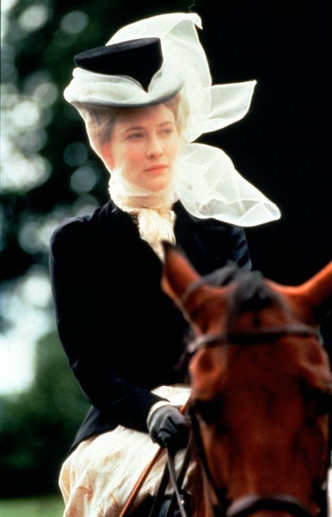 Cate Blanchett as Lady Gertrude Chiltern in An Ideal Husband