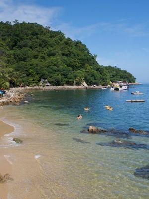 Las Caletas from Puerto Vallarta, spent the day here. Just beautiful.