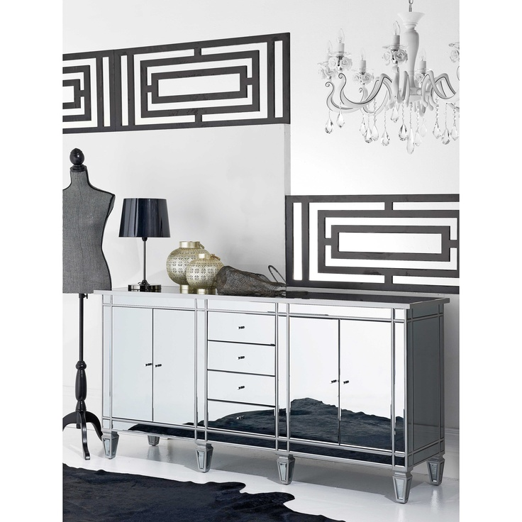 Twilight Mirrored Cabinet/Buffet from Domayne