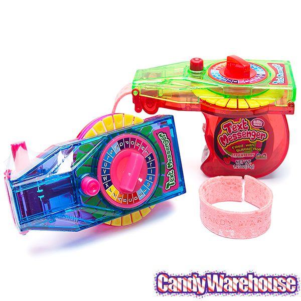 Secret Message Maker Gum Dispensers 12 Piece Box Secret Messages Gum Wholesale Candy