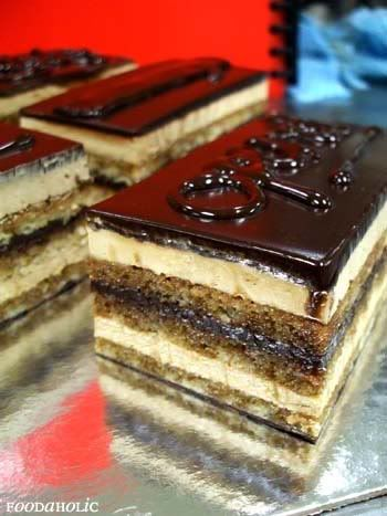 Opera Cake. My words... I have none for the delicious.