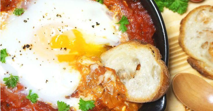 中東の朝ごはん♪シャクシュカ by JA全農たまご [クックパッド] 簡単おいしいみんなのレシピが237万品