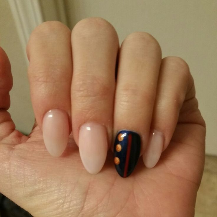 USMC nails, for the Marine Corps Ball.