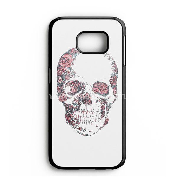 Floral Skull Samsung Galaxy Note 7 Case | aneend