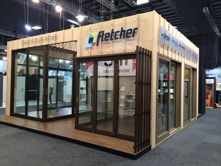 Exhibition Stand Nz : Fletchers at the homeshow by peek exhibition