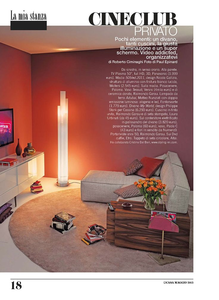 D CASA - MYWORLD, design Philippe Starck