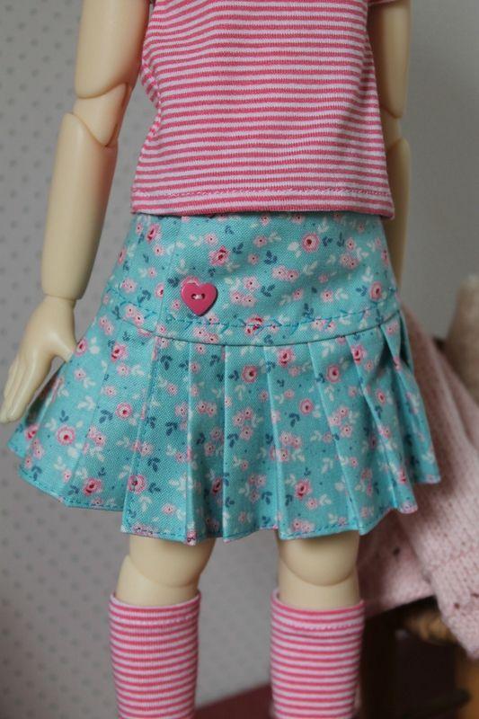 """Patron """"Mei Mei"""": la jupe plissée - tuto"""